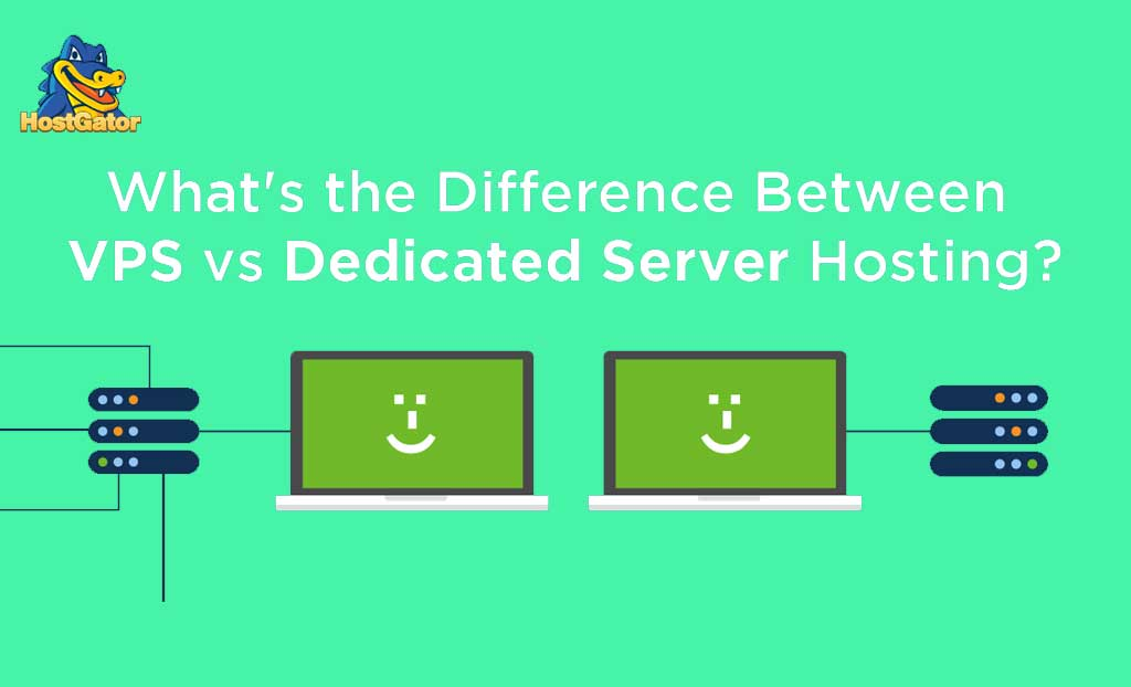 What are the difference between VPS vs Dedicated Server Hosting