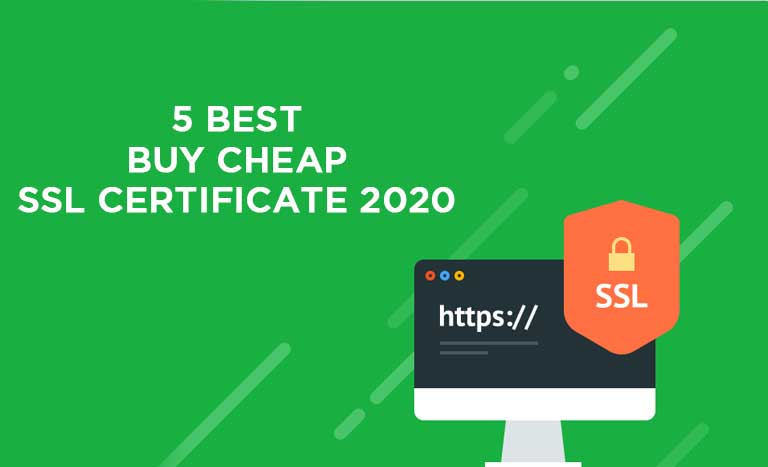 5 BEST BUY CHEAP SSL CERTIFICATE 2020