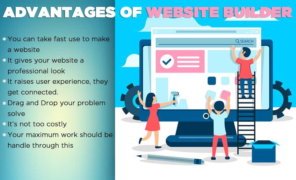 Advantages of Website Builder
