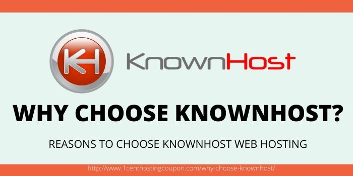WHY CHOOSE KNOWNHOST