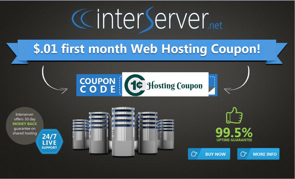 Interserver 1 cent VPS Hosting