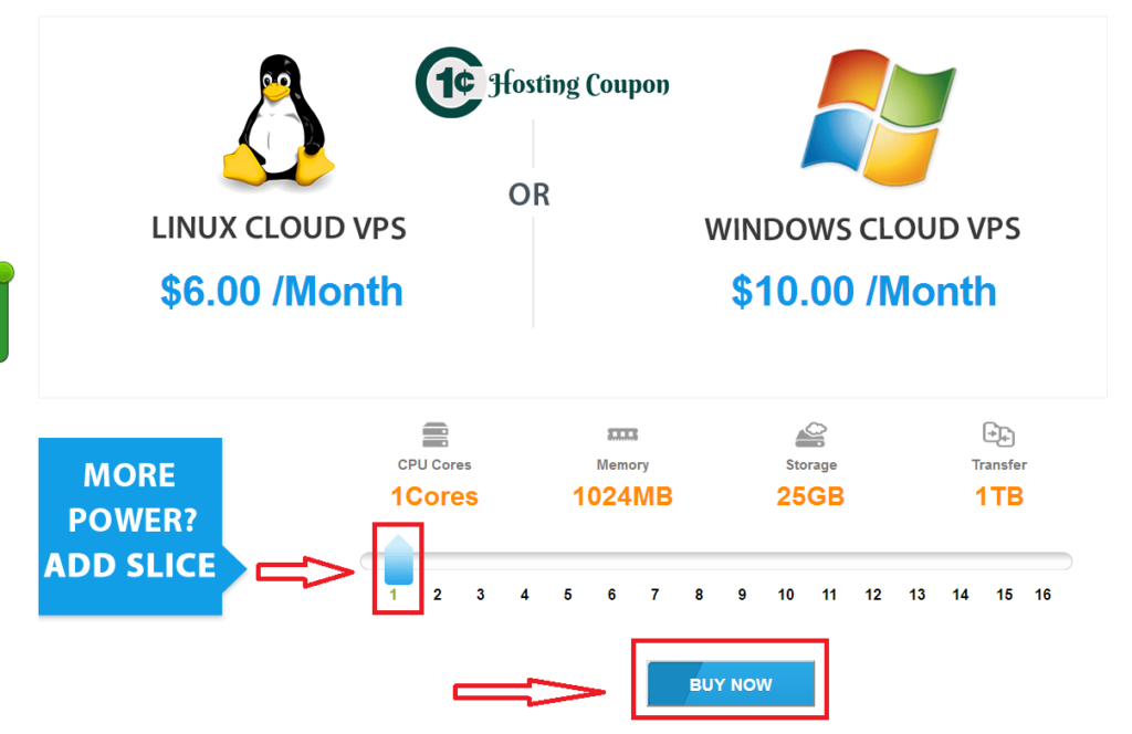 Interserver VPS hosting deals