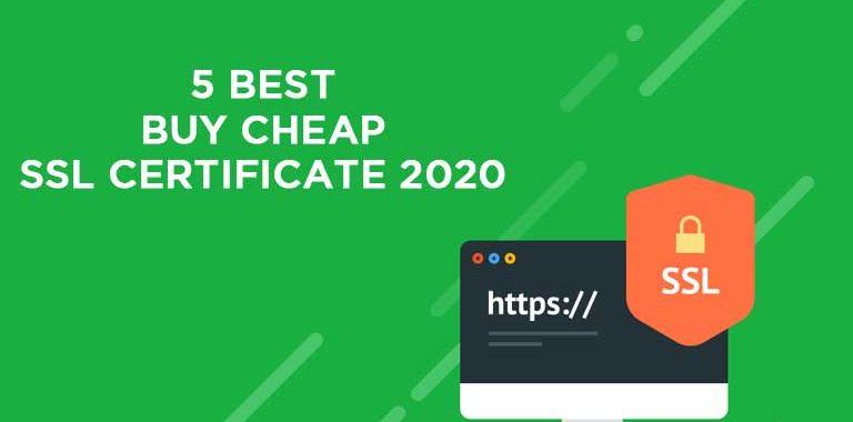CHEAP SSL CERTIFICATE 2020
